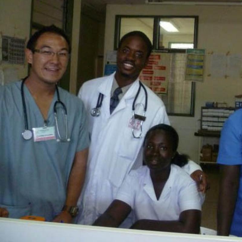 Michael T in Ghana